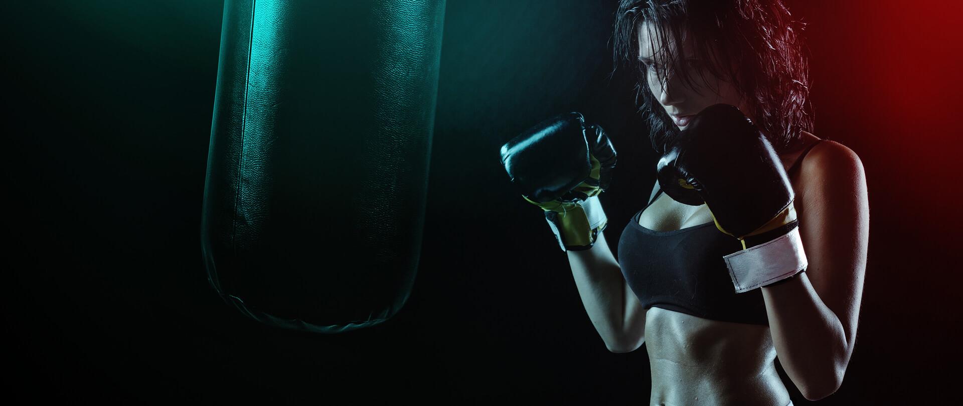 Női boxedzés